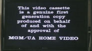 MGM Home Entertainment UK Warning 2a