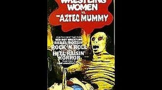 Opening To Rock-N-Roll Wrestling Women Vs. The Aztec Mummy 1986 VHS