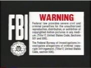 Feature Films Warning Screens