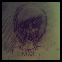 The smiling man by ninja saurous rex-d53sgvn