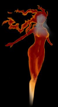 Burning-bride
