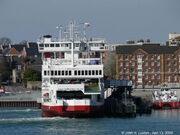 Red Eagle at East Cowes