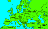 Map of Europe by Slime Mapper