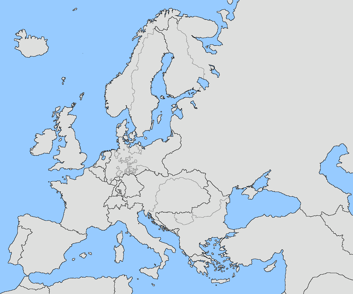 Image Europe Blank Map By Fenn O Manicderhhspng - Blank us state map 1000 pixels width