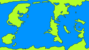Fantasy Map by Damiano Guastella