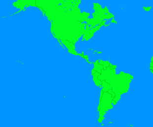 The Americas Flooded