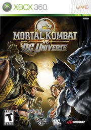 Mortal Kombat Vs. DC Universe Box Art