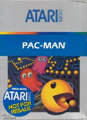 Pac-Man Atari 5200 Box Art