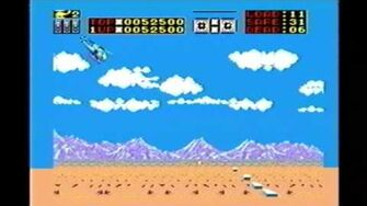 Classic Game Room HD - CHOPLIFTER for Sega Master System