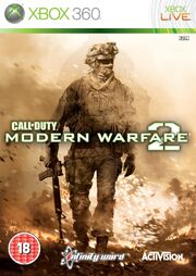 Modern Warefare 2 Box Art