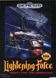 Lightening Force Box Art