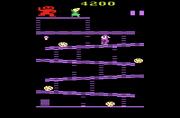 Donkey Kong Atari 2600 Gameplay