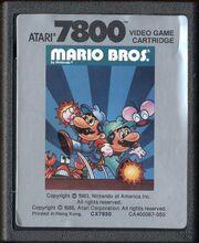 Mario Bros 7800 Cart
