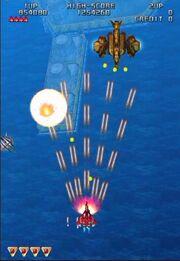 Raiden 3 PS2 Gameplay
