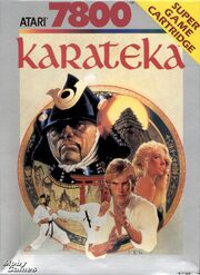 Karateka Box Art