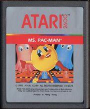 Ms. Pac-Man Atari 2600 Cart