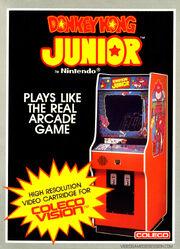 Donkey Kong Junior Coleco Box Art