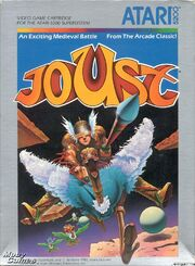 Joust Atari 5200 Box Art