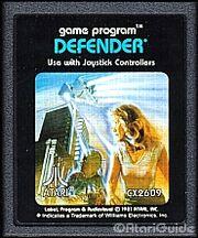 Defender Box Art Atari 2600