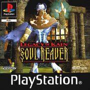 Soul Reaver PS1 Box Art
