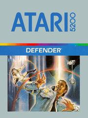 Defender Box Art Atari 5200