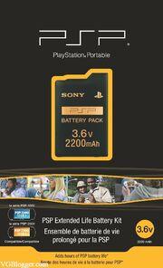 PSP Extended Life Battery Kit