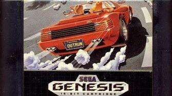 Classic Game Room HD - OUTRUN for Sega Genesis