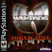 Wu-Tang Shaolin Style PS1 Box Art