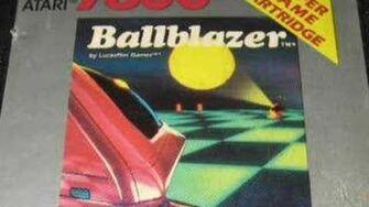 Classic Game Room - BALLBLAZER review for Atari 7800