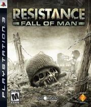 Resistance Fall of Man cover