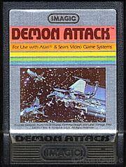 Demon Attack Atari 2600 Cart