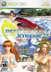 Dead Or Alive X-Treme 2 Box Art