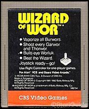 Wizard Of Wor Cart