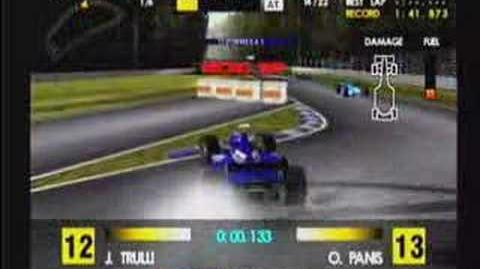 Classic Game Room reviews F1 WORLD GRAND PRIX for Dreamcast