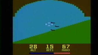 Classic Game Room HD - AIR RAIDERS for Atari 2600 review