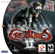Nightmare Creatures 2 Box Art