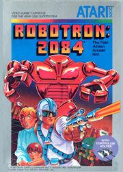 Robotron 2084 5200 Box Art