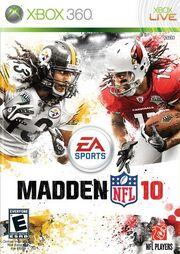 Madden NFL 10 Box Art