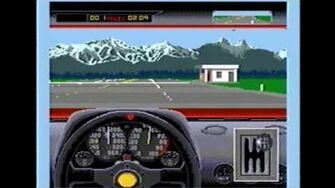 Classic Game Room HD - TEST DRIVE II THE DUEL for Genesis