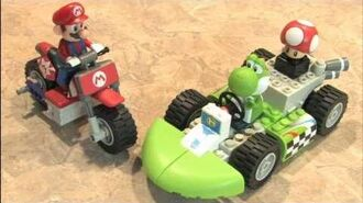 Classic Game Room - MARIO KART K'NEX MARIO BIKE building set
