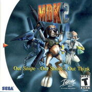 MDK 2 Dreamcast Box Art