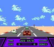 Rad Racer Gameplay