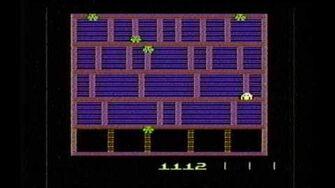 Classic Game Room HD - AMIDAR for Atari 2600 review