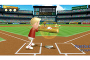 Wii Sports Baseball Gameplay