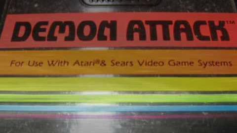 Classic Game Room - DEMON ATTACK for Atari 2600 review