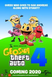 Geoshea Theft Auto 4 (2020) teaser poster