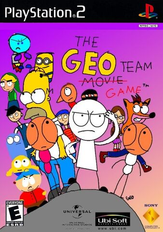 File:The Geo Team Game PS2 cover art.jpg