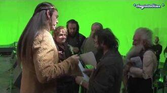 Vietsub Hậu trường The Hobbit Vua hài Elrond-0