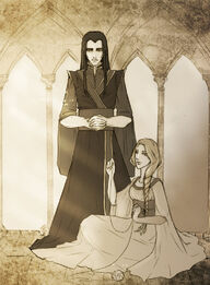 Mandos and Luthien
