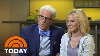 Kristen Bell, Ted Danson On 'The Good Place,' 'Cheers,' Bell's Depression Battle TODAY